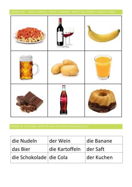 hochfrequente Lebensmittel Teil 2