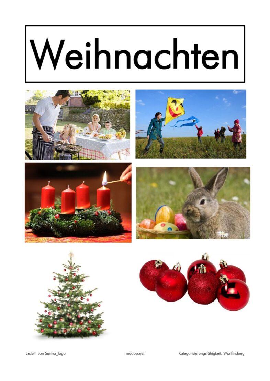 Weihnachten – Kategorisieren