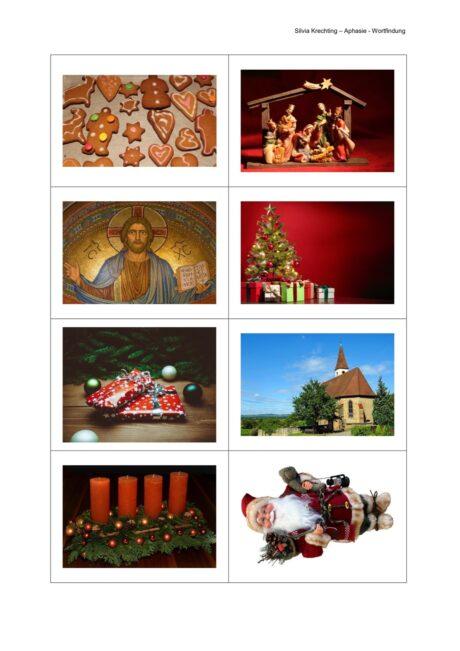 Bildkarten zurm Thema Weihnachten
