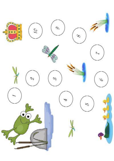 Froschkönig-Ansaug-Spiel