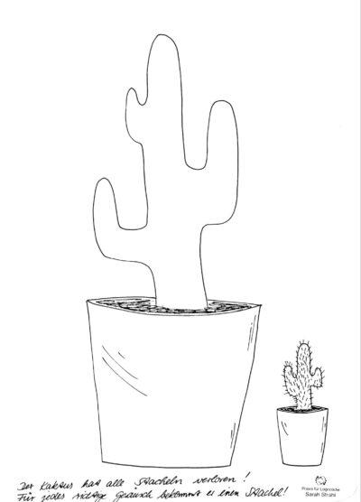 Sigmatismus, Schetismus mit Kaktus