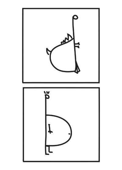 Bilder bei b – d Verwechselung