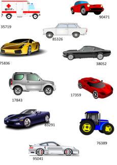 Merkfähigkeit Autos