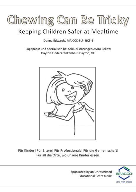 Malbuch für Kinder zum Schlucken