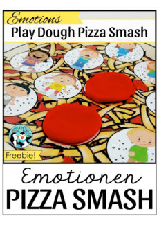 Emotionen Pizza