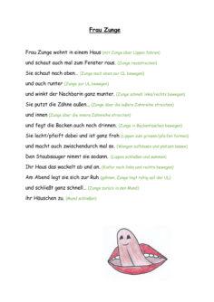 Frau Zunge (MuMo-Gedicht)