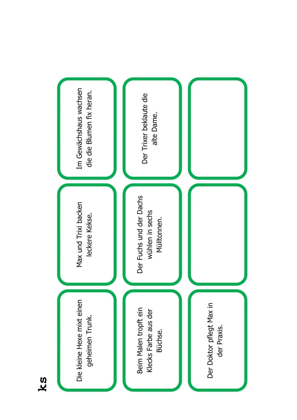 Sammlungen mit Arbeitsblatt zum Schetismus - Dyslalie, LRS - madoo.net