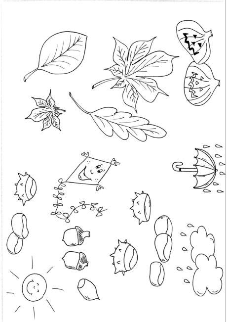 Ausmalbild Zum Thema Herbst Diverses Madoo Net