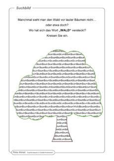 Suchbild Baum