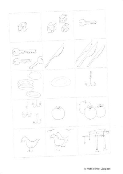 Pluralmarkierun / Mehrzahl Teil 2