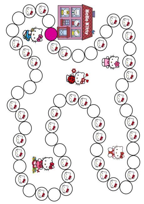 Spielplan Hello Kitty