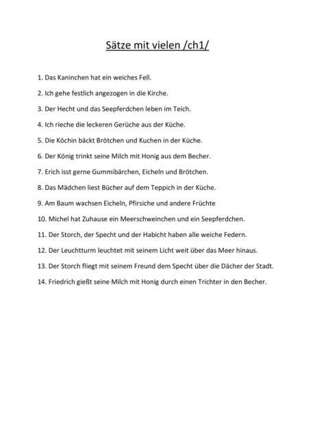 Sätze mit vielen /ch1/