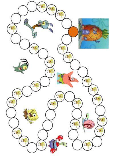 Spielplan Spongebob