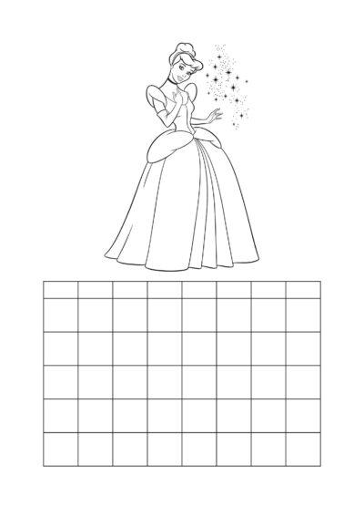 Hausaufgabenplan Cinderella