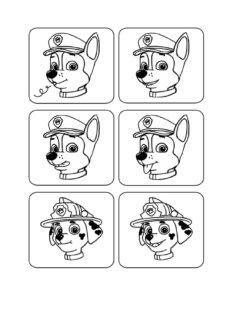 Mundmotorikkarten Paw Patrol