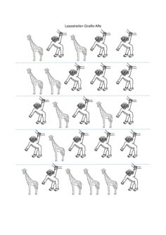 Phonologie – unbetonte Vorsilbe – Affe/Giraffe