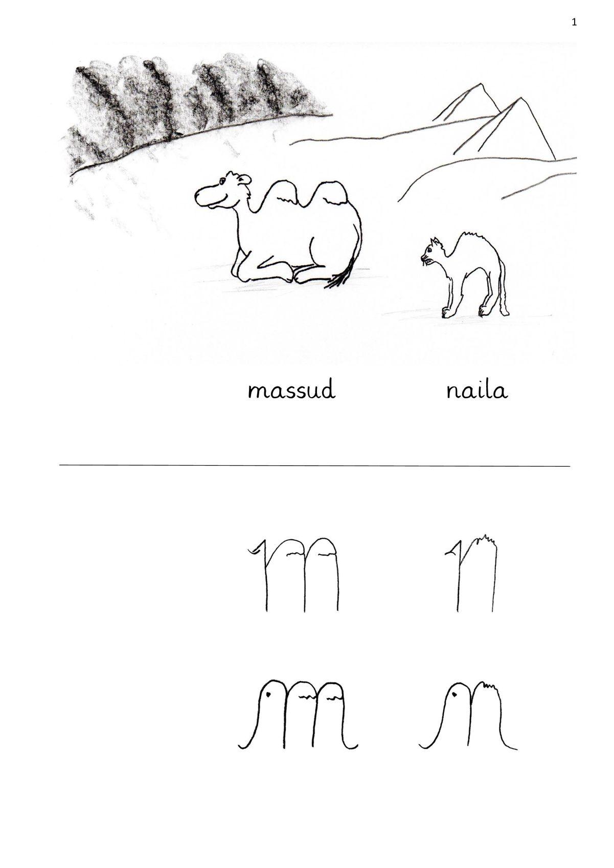 m und n, Differenzierung der Kleinbuchstaben - LRS - madoo.net