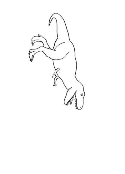 Stempelbilder Dinofutter