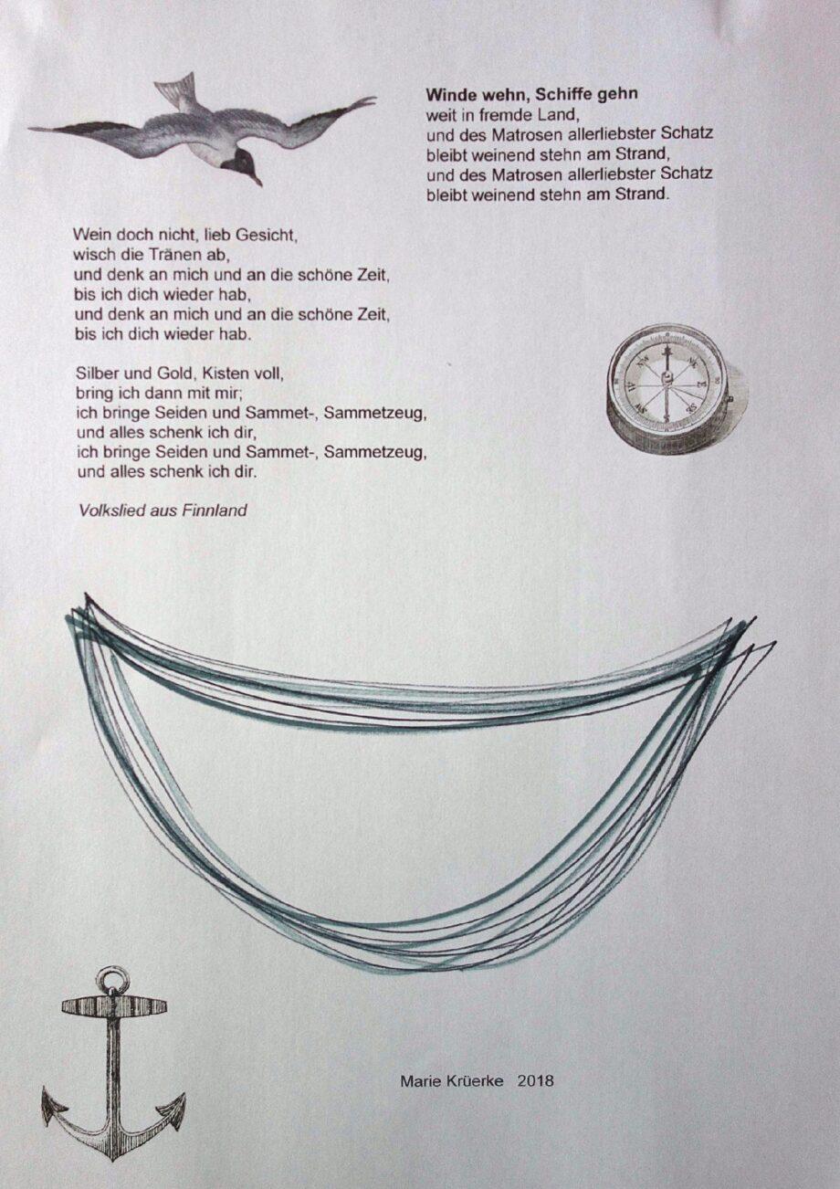 Atemschriftzeichen / Sprechzeichnen: Schiffchen