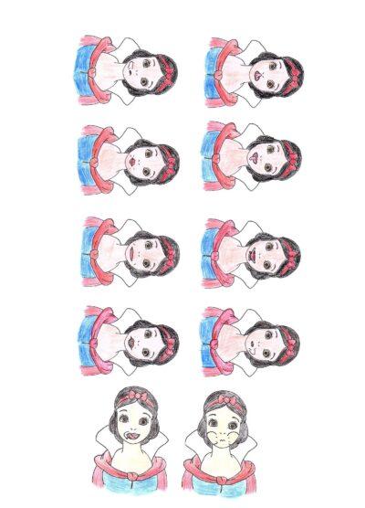 MuMo-Karten Schneewittchen