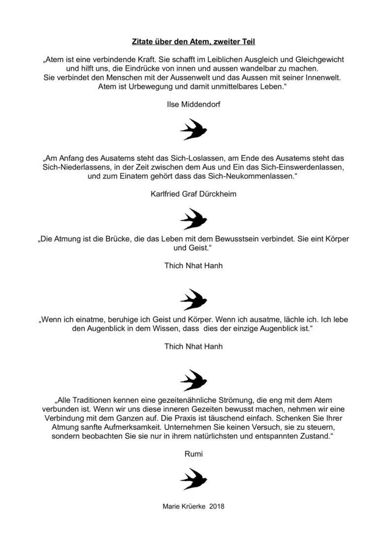 Inspirierende Zitate über den Atem (2)