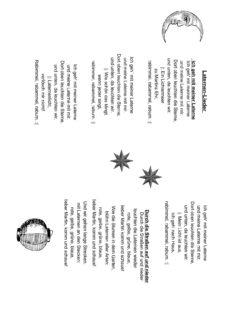 Laternen-Lieder