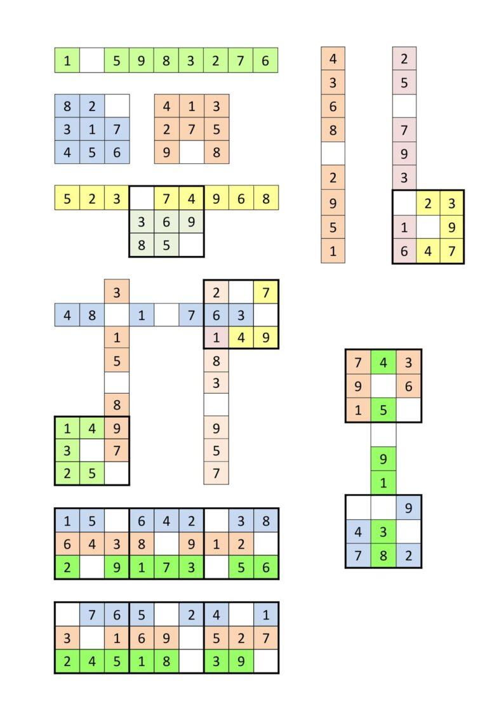 Sudoku Übung 9×9
