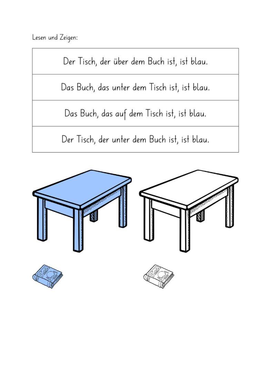 Sprachverständnis Grammatik