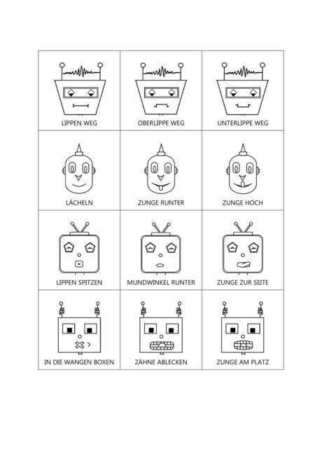 Mundmotorik Roboter
