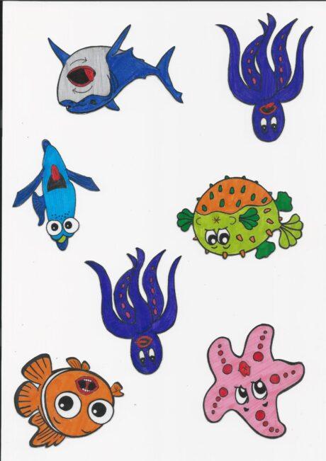 Mundmotorik Meerestiere (2)