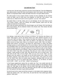"""Inputsequenz und Übung """"Tisch decken"""""""