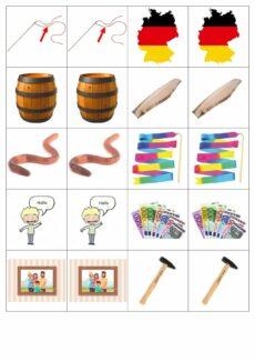 Plural Memory (-er mit/ohne Umlaut & Nullplural mit/ohneUmlaut) (2)
