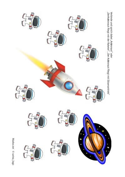Inlaut /tr/ – Astronaut