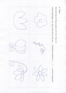 bl – Blumen zum Ausmalen