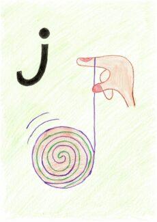 alternative POPT-Karte /j/ (Jojo)