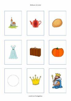 Bildkarten (k) initial (27 Stück)