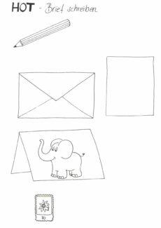 HOT Brief schreiben