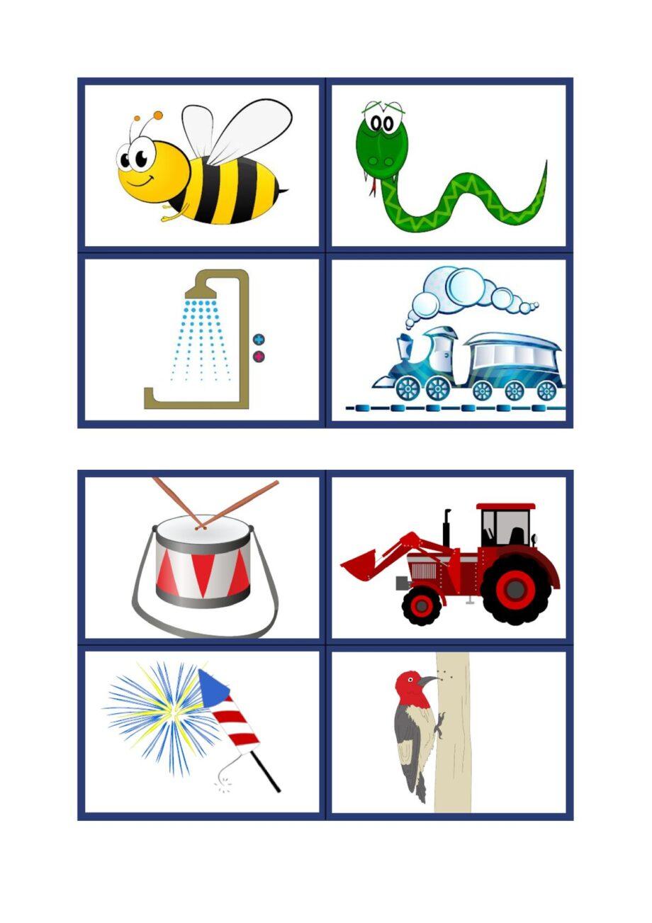 Lautsymbol-Karten Konsonanten ohne Schrift
