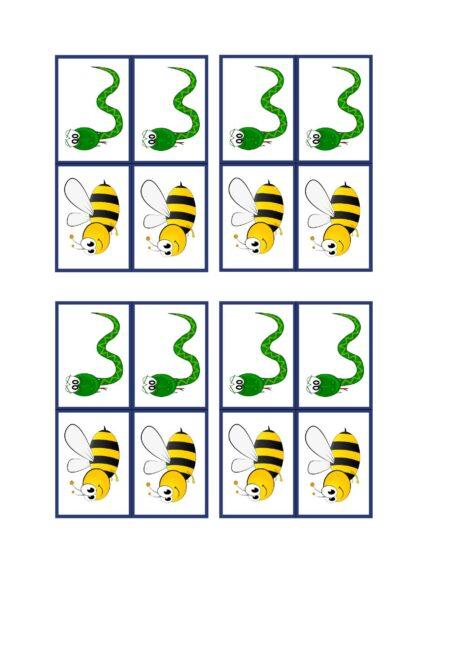 Lautsymbol-Karten /s/ /z/ klein
