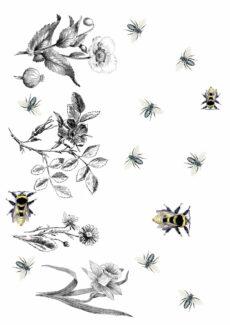 """Pustespiel """"Bienen"""": Mundmotorik im Frühling"""