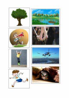 Tätigkeiten Bilder – Ausbau Verbwortschatz oder Förderung Selbstbewusstsein