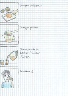HOT – Orangensaft herstellen