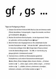 Perfektformen, Dialekt (Schwierige Konsonantenverbindungen)