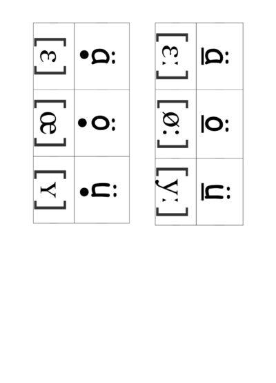 Umlaute in Phonem-Schrift