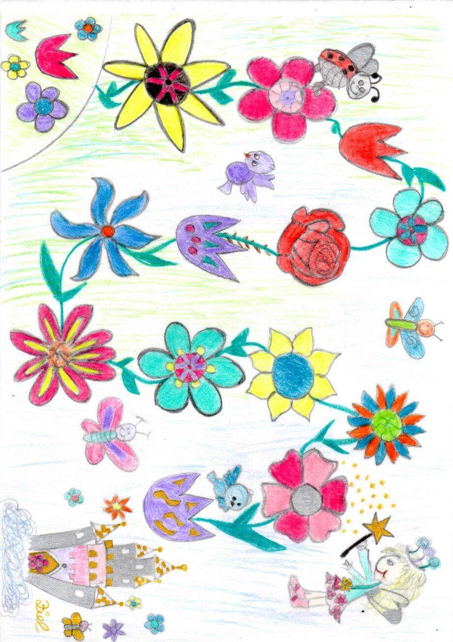 Blumenfee Spielplan