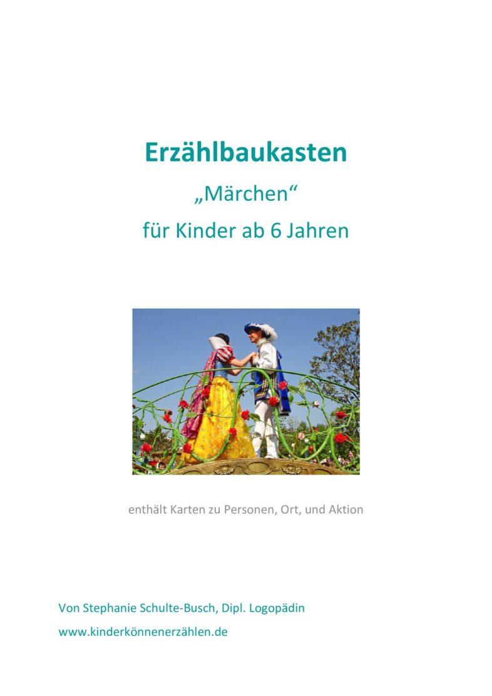"""Erzählbaukasten """"Märchen"""""""