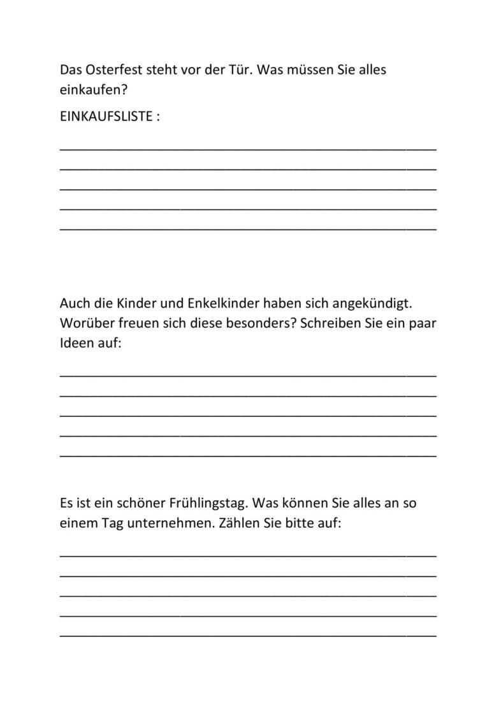 Wortabruf/findung Thema Ostern/Frühling