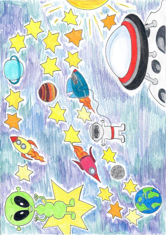 Spielplan Weltraum
