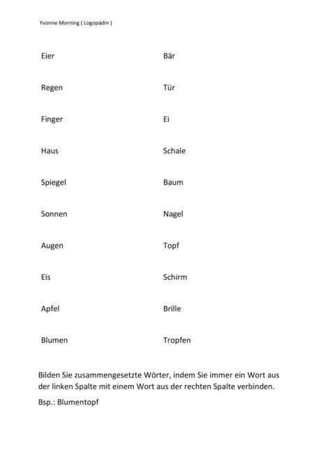 Nomina Komposita (3)