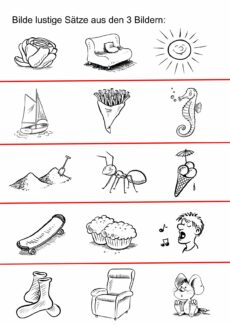 Lustige Sätze S